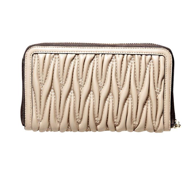 Dámska peňaženka bata, béžová, 941-8103 - 26