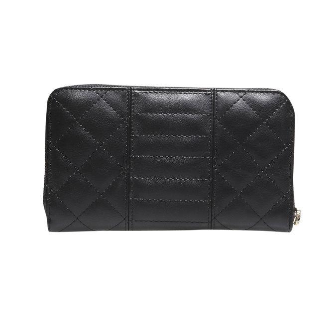 Dámska prešívaná peňaženka bata, čierna, 941-6128 - 26