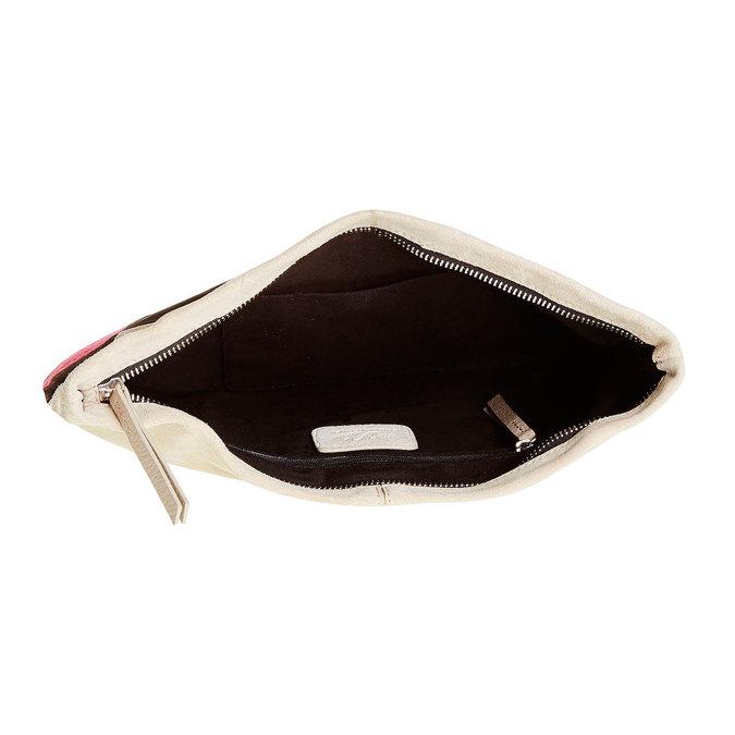 Kožená Crossbody kabelka bata, čierna, 963-6125 - 15