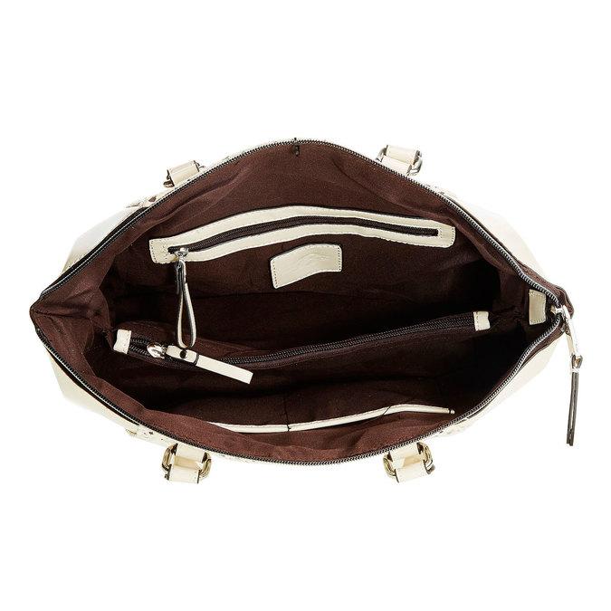 Dámská kabelka s odnímateľným popruhom bata, béžová, 961-8796 - 15