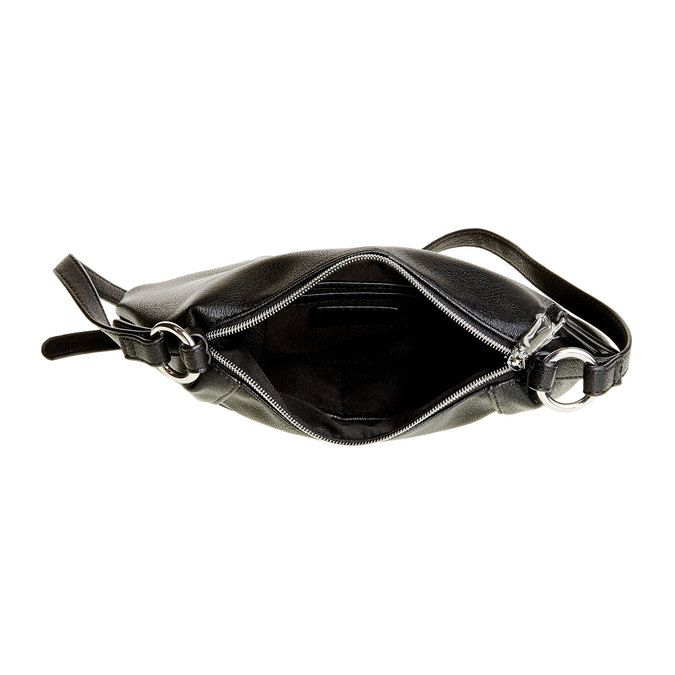 Crossbody kabelka bata, čierna, 961-6757 - 15