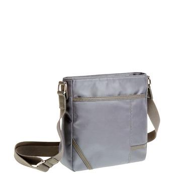 Pánska Crossbody taška bata, šedá, 969-2324 - 13