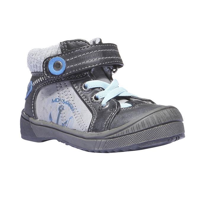 Detská obuv mini-b, šedá, 111-2101 - 13