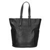 Dámska čierna kabelka s kamienkami bata, čierna, 961-6118 - 19
