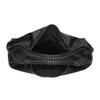 Kabelka v Hobo štýle s kovovou aplikáciou bata, čierna, 961-6854 - 15