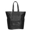 Dámska čierna kabelka s kamienkami bata, čierna, 961-6118 - 26