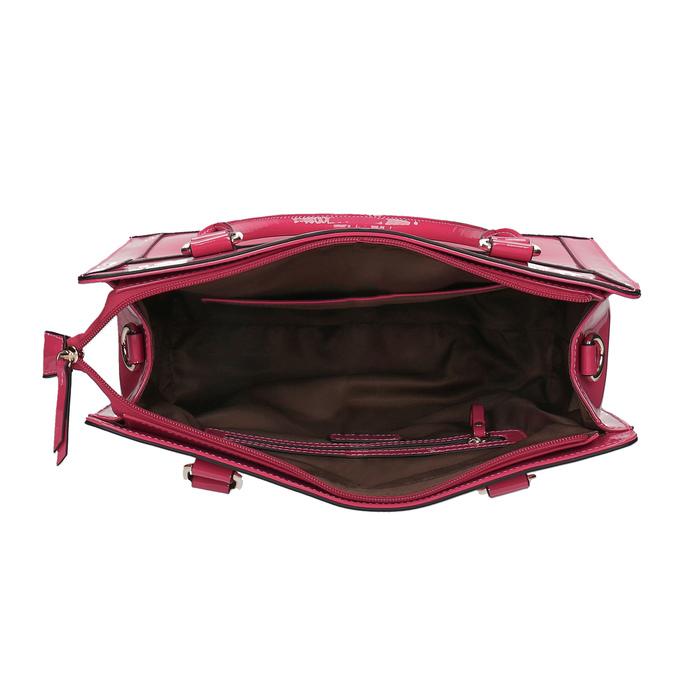 Ružová dámska kabelka bata, ružová, 961-1610 - 15