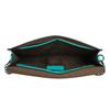 Tyrkysová dámska listová kabelka bata, 961-7624 - 15