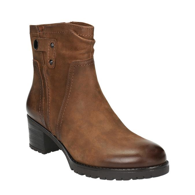 Dámska členková obuv bata, hnedá, 696-4603 - 13