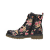 Dievčenská členková obuv s kvetinovým vzorom mini-b, čierna, 321-9600 - 26