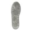 Detské členkové tenisky šedé mini-b, šedá, 411-2600 - 26