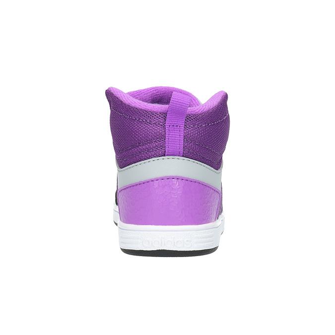 Detské členkové tenisky adidas, šedá, 101-2231 - 17