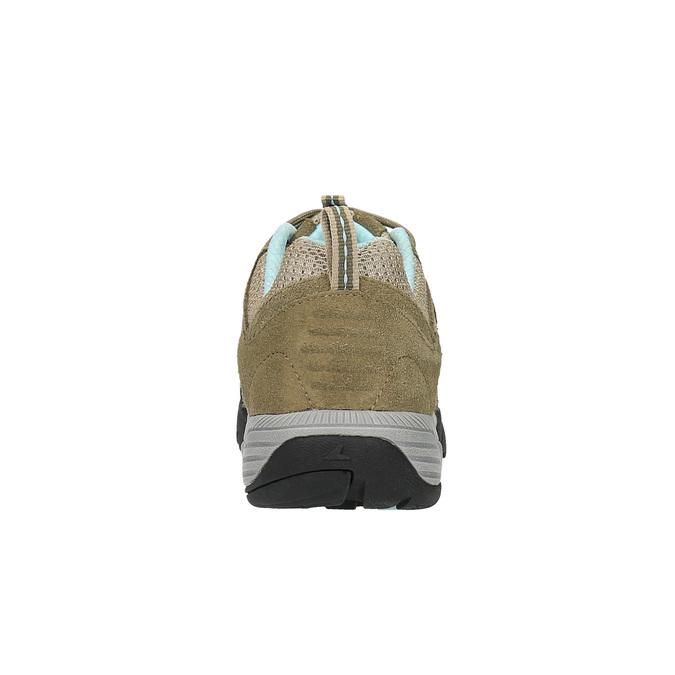 Dámska kožená obuv v Outdoor štýle power, béžová, 503-3829 - 17