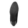 Kožené členkové čižmy s hadím vzorom bata, čierna, 796-6606 - 26