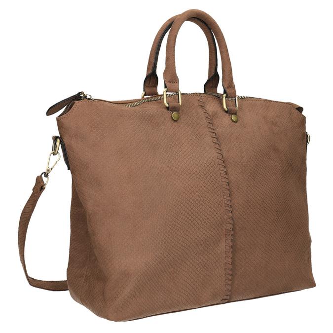 Hnedá dámska kabelka bata, hnedá, 969-3622 - 13