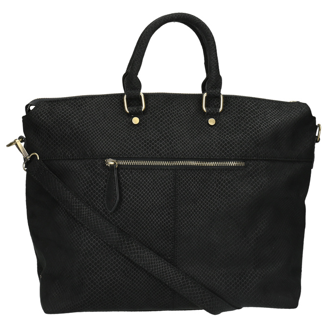 Čierna dámska kabelka bata, čierna, 969-6622 - 26