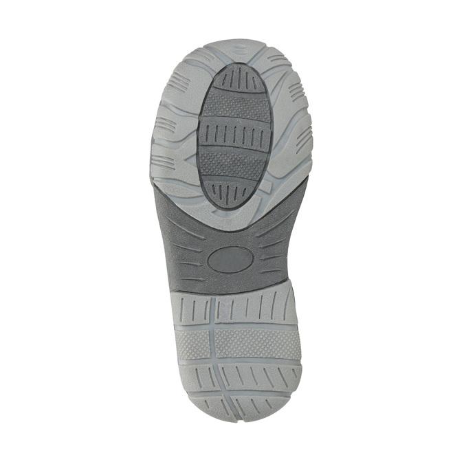 Detská členková obuv na suchý zips mini-b, šedá, 211-2605 - 26