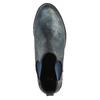 Dámska členková obuv bata, modrá, 591-9616 - 19