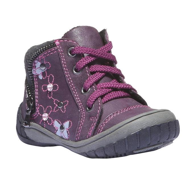 Detská obuv mini-b, fialová, 121-9101 - 13