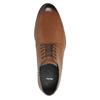 Pánske kožené poltopánky bata, hnedá, 826-3643 - 19