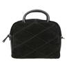 Malá kožená kabelka s popruhom bata, čierna, 963-6133 - 26