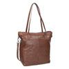 Hnedá kožená kabelka bata, hnedá, 964-3234 - 13