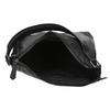 Kožená kabelka v Hobo štýle čierna bata, čierna, 964-6254 - 15