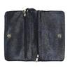 Dámska listová kabelka s remienkom na zápestí bata, modrá, 961-9668 - 15
