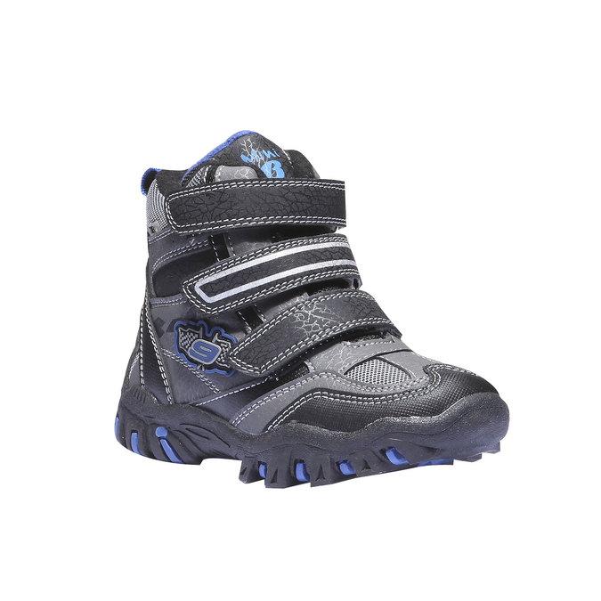 Detská obuv mini-b, šedá, 291-2100 - 13