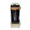 Kožená členková obuv na priehladnej podrážke weinbrenner, čierna, 598-6602 - 17
