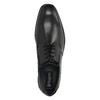 Pánske kožené poltopánky bugatti, čierna, 824-6013 - 19