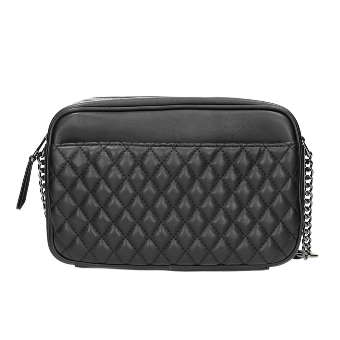 Dámska Crossbody kabelka s prešívaním bata, čierna, 961-6158 - 26