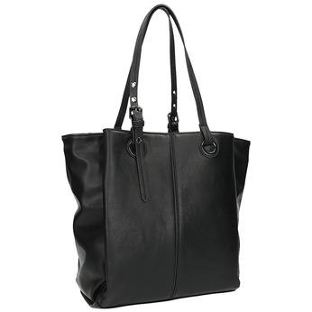 Kabelka v štýle Tote Bag bata, čierna, 961-6123 - 13