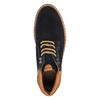 Kožená členková obuv s výraznou podrážkou bata, modrá, 893-9650 - 19