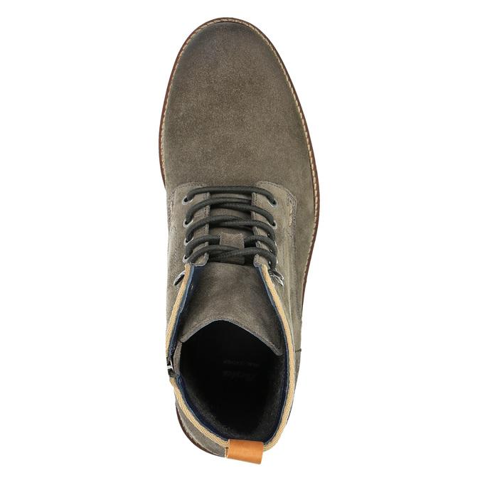 Pánska členková obuv bata, šedá, 893-2651 - 19