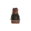 Kožené členkové poltopánky bata, hnedá, 894-4646 - 17