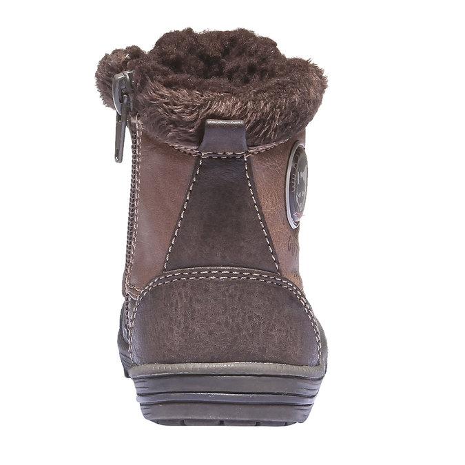 Detská obuv mini-b, hnedá, 191-4100 - 17