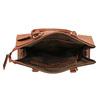 Hnedá elegantná kabelka s pevnými rúčkami bata, hnedá, 961-3646 - 15
