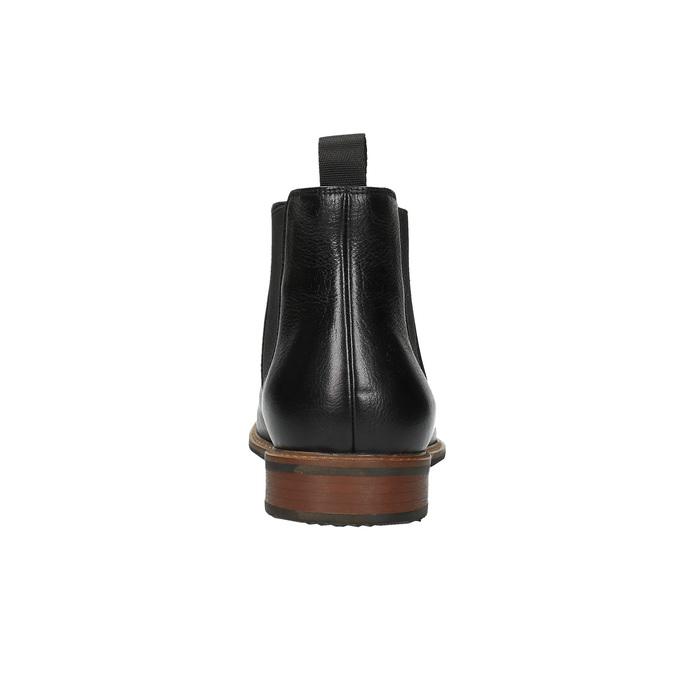 Kožené Chelsea Boots bata, čierna, 894-6666 - 17