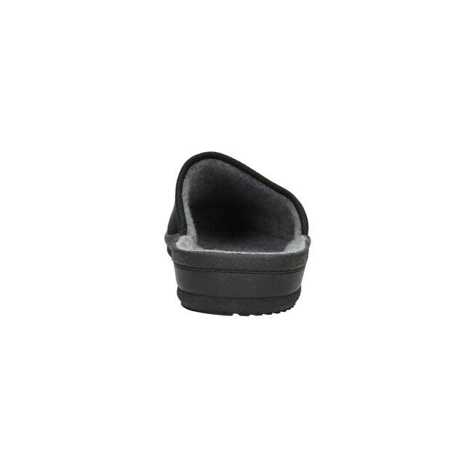 Pánska domáca obuv bata, čierna, 879-6601 - 17