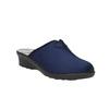 Dámska domáca obuv bata, modrá, 579-9602 - 13