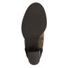 Členková obuv na širokom podpätku bata, hnedá, 799-3612 - 26