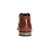 Ležérne kožené poltopánky k členkom bugatti, hnedá, 824-3007 - 17