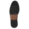 Kožená členková obuv pánska bata, čierna, 826-6642 - 26