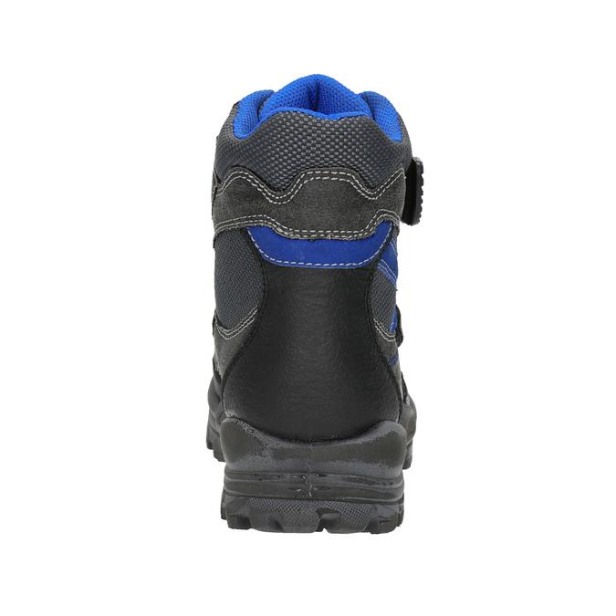 Detská zimná obuv mini-b, čierna, 499-6103 - 17