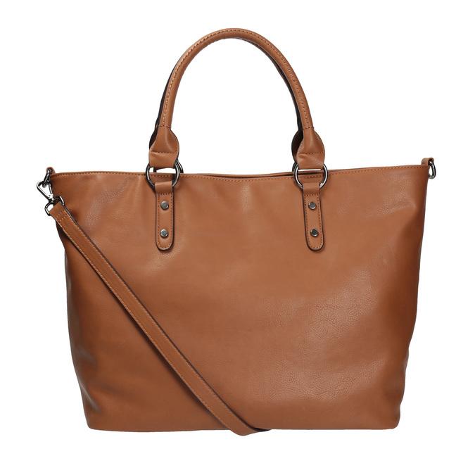 Hnedá dámska kabelka bata, hnedá, 961-3857 - 19