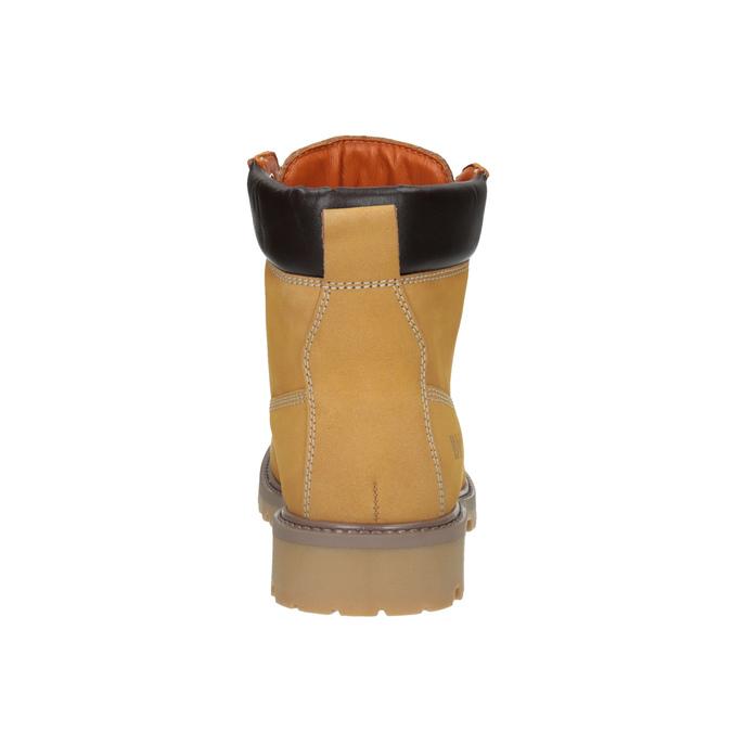 Kožená dámska obuv weinbrenner, hnedá, 596-8629 - 17