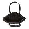 Kabelka v Shopper štýle bata, čierna, 961-6847 - 15