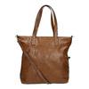 Dámska kabelka s asymetrickým zipsom bata, hnedá, 961-3847 - 19