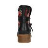 Členková obuv s Etno vzorom bata, čierna, 599-6604 - 17